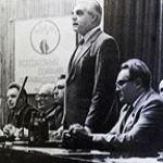Выступает академик Вальдман А.В. (1984 г.)