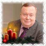 Ректор ВолгГМУ, академик РАМН В.И.Петров (новогодняя)