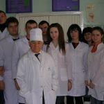Анатолий Коневский с группой студентов
