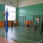 Колледж на волейболе
