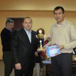 Награждение за 2 место в спартакиаде ссузов -2009