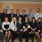 профессорско-преподавательский состав кафедры общей и клинической психологии на первом выпуске студентов факультета в 2009 году