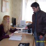 Прием документов у вновь прибывшего студента