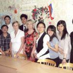Горынина Г.А. и Гребенюк Л.Н. со студентами из Малайзии