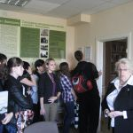 Студенты медико-профилактического отделения в музее истории санитарной службы