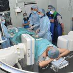 Волгоградские врачи и ведущий немецкий кардиолог снова оперировали вместе