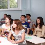 Подготовительное отделение для российских слушателей. Май 2013.