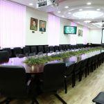 Зал заседаний Ученого совета ВолгГМУ (главный корпус университета, 3 этаж)