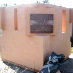 Памятник З.В. Ермольевой в г. Фролово Волгоградской области.