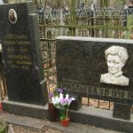 Памятник на могиле З.В. Ермольевой в Москве, Кузьминское кладбище. Фото сайта Miroznai.ru