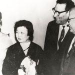 На фото: в центре З.В. Ермольева, справа Г.Р. Финн и Н.П. Григоренко (ректор Волгоградского государственного медицинского института в 1963-1976 гг.). Фото из фонда музея Волгоградского государственного медицинского университета.