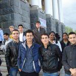 Иностранные слушатели подфака ВолгГМУ на премьере «Севастопольского вальса»