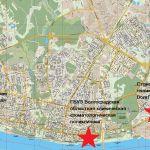 Карта кафедральных баз