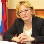 Министр здравоохранения Российской Федерации Вероника Игоревна Скворцова