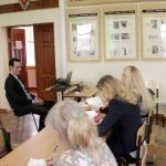 10 января 2017 года председатель Волгоградского облкомздрава, завкафедрой общественного здоровья и здравоохранения ФУВ ВолгГМУ, к.м.н. В.В. Шкарин прочитал лекцию на тему «Общественное здравоохранение в современном мире»