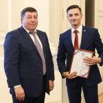 Студент ВолгГМУ Дмитрий Ряднов награжден благодарностью Совета ректоров медицинских и фармацевтических вузов