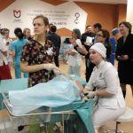 Кондратьева Екатерина выполняет гистерорезектоскопию