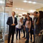 2017-04-19 Участники 75-й конференции посетили музей истории ВолгГМУ и изучили исторические места Волгограда