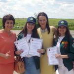 Студентки ВолгГМУ приняли участие в торжественном открытии III трудового семестра 2017 года