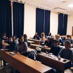 Первое собрание осенней школы журналистики