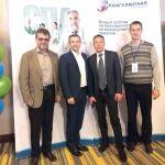 Участники научно-практической конференции «Новый взгляд на безопасность антикоагулянтной терапии»
