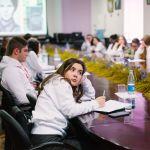 Студенты на I Всероссийском патриотическом форуме