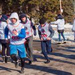 Забег волонтеров ЧМ на 2018 метров