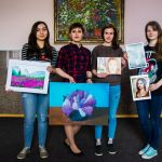 Арт-выставка «Шаг в творчество»