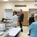 Административные обходы корпусов ВолгГМУ ректором В.В.Шкариным