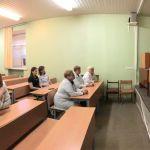 17.10.2019 Ректор ВолгГМУ продолжил знакомство с кафедрами университета