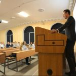 Встреча ректора ВолгГМУ со студентами 05.11.2019
