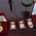 Образцы сувенирной продукции для согласования на совещании по подготовке к 85-летию ВолгГМУ