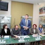 Выступление С.В. Поройского на совещании с вузами-партнёрами РУМЦ
