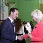 В ежегодном спортивном празднике для первокурсников ВолгГМУ поучаствовали Владимир Шкарин и Елена Исинбаева