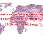 """2019-11-29 Конференция """"Морфогенез в норме, патологии и эксперименте"""""""