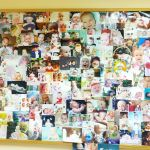Стенд с фотографиями родившихся малышей благодаря ЭКО, проведенному в отделении вспомогательных репродуктивных технологий Клиники № 1 ВолгГМУ