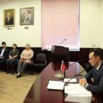 Ректор ВолгГМУ Владимир Шкарин 25 сентября 2019 года провёл первое организационное совещание