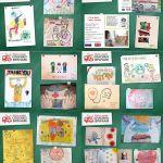 Виртуальная выставка «Дети мира. Спасибо врачам!». Фрагмент