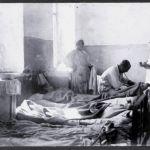 Спирин П.А. на обходе в госпитале_