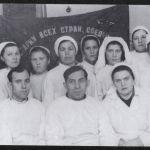 Елаев М.Э. второй слева в нижнем ряду