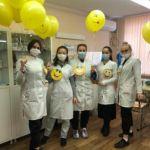Студенты колледжа ВолгГМУ отметили День улыбки