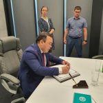 В Волгоградском государственном медицинском университете побывал генеральный консул республики Узбекистан в Ростове-на-Дону РустамКурганбаев